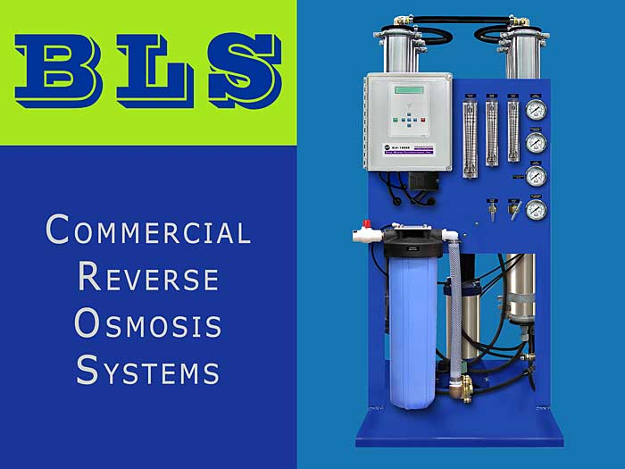 SWT's BLS Commercial RO Systems