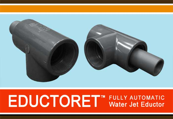 SWT Eductoret - Fully Automatic Water Jet Eductor
