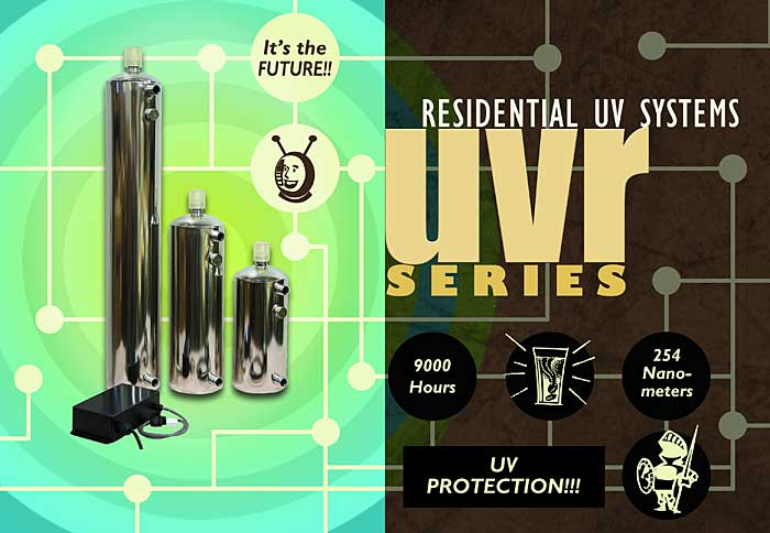 UVR Series Residential UV Systems