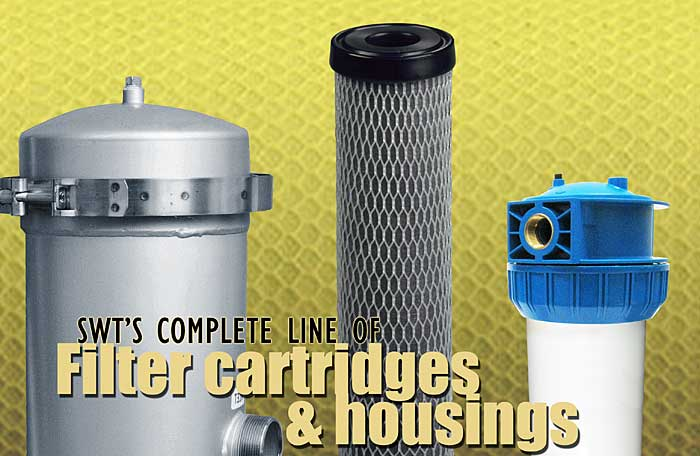 SWT's Complete Line of Cartridges and Housings