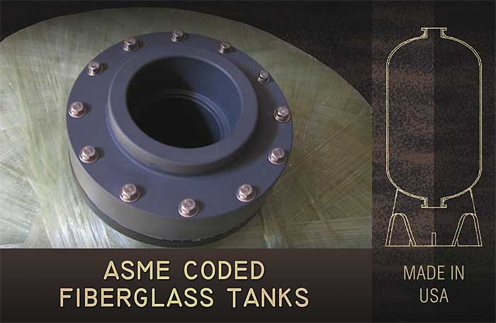 ASME Coded Fiberglass Tanks from SWT