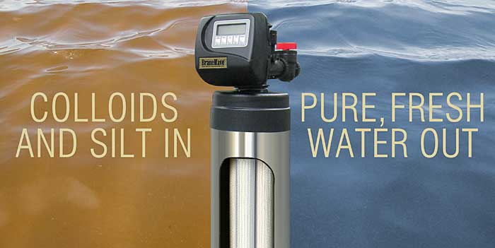 SWT's BraneWave Ultrafiltration System effectively filters suspended solids, colloids, and silt from water
