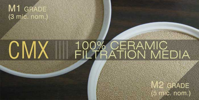 SWT's CMX Ceramic Filtration Media