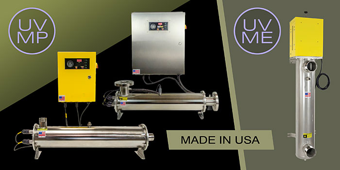 SWT's UVME and UVMP Commercial/Industrial UV Systems